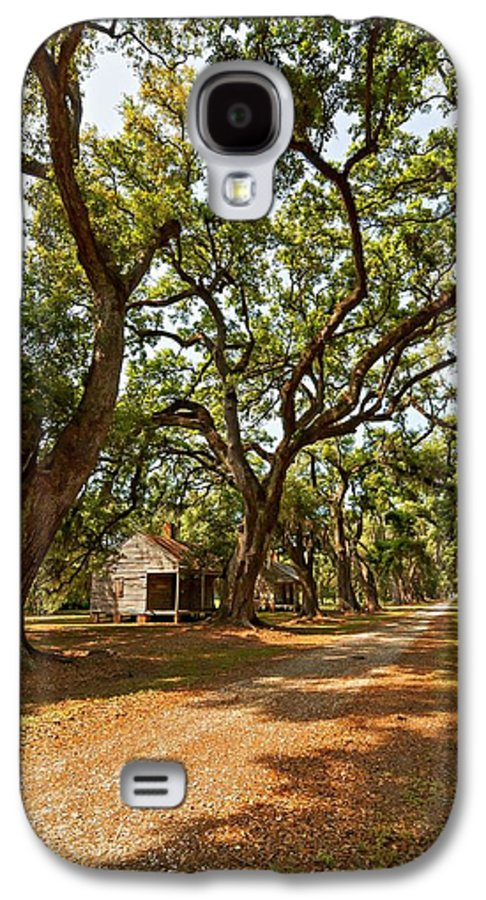 Evergreen Plantation Galaxy S4 Case featuring the photograph Southern Lane by Steve Harrington