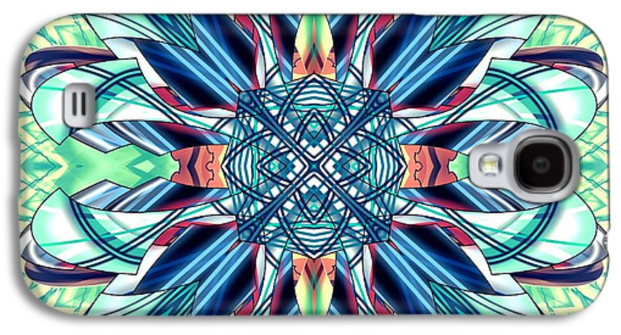 Abstract Galaxy S4 Case featuring the digital art 1800 06 by Brian Johnson