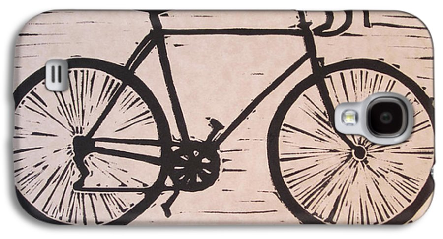Bike Galaxy S4 Case featuring the drawing Bike 8 by William Cauthern
