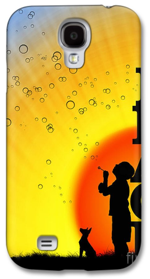 Boy Galaxy S4 Case featuring the photograph Peace by Tim Gainey
