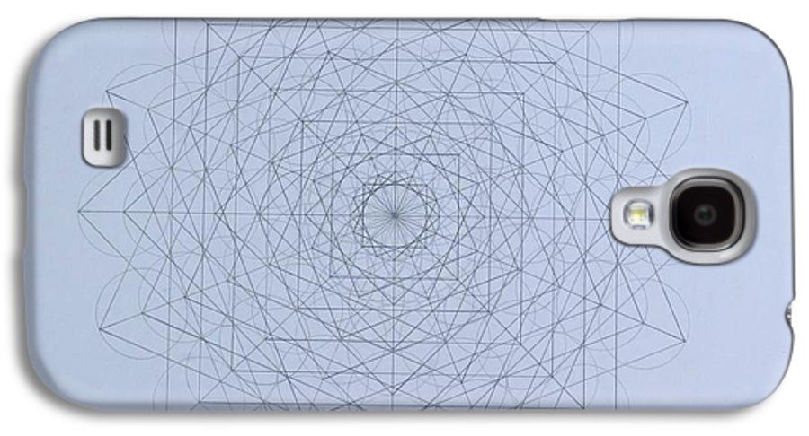 Jason Galaxy S4 Case featuring the drawing Quantum Foam by Jason Padgett
