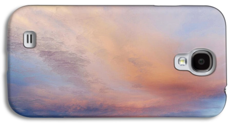 Abstract Galaxy S4 Case featuring the photograph Clouds by Les Cunliffe