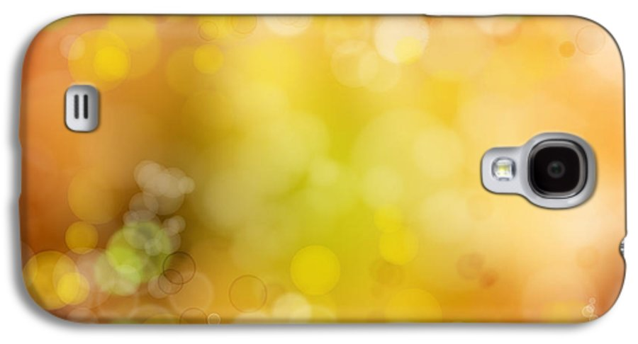 Space Galaxy S4 Case featuring the photograph Abstract Background by Les Cunliffe