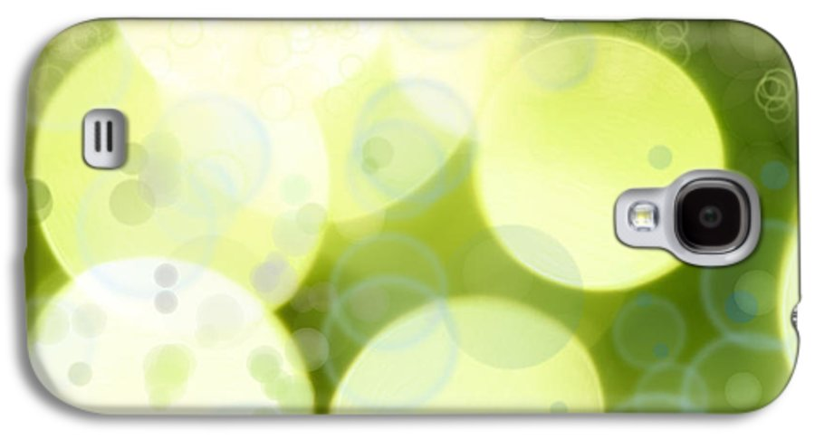 Backgrounds Galaxy S4 Case featuring the photograph Abstract Background by Les Cunliffe