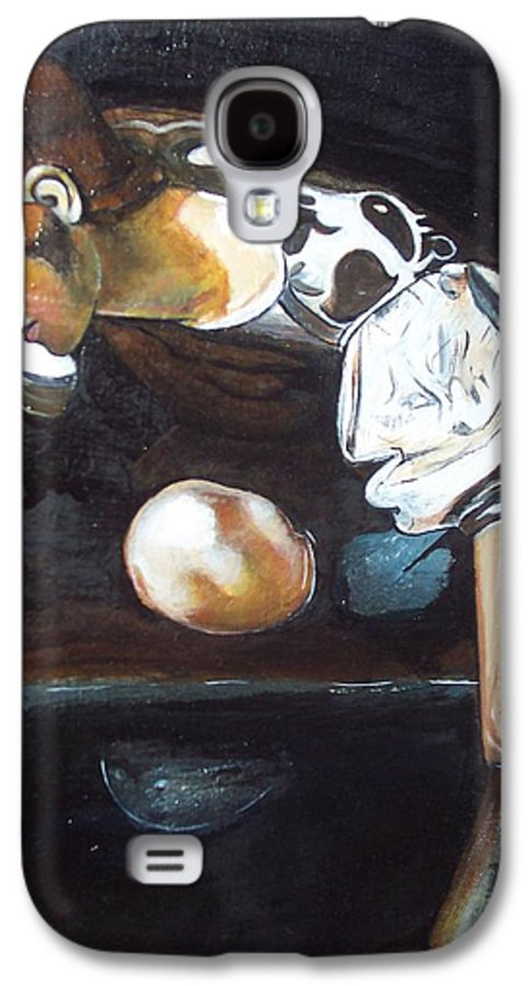 Galaxy S4 Case featuring the painting Detail by Jude Darrien