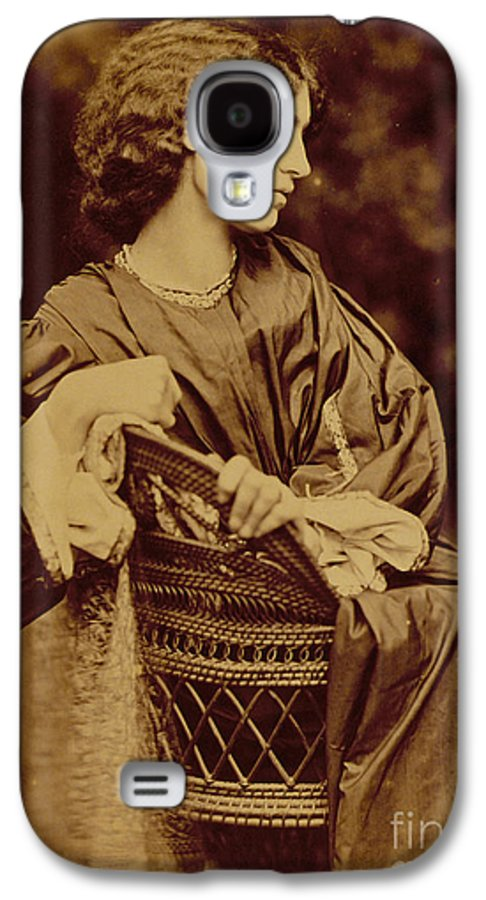 Photo Galaxy S4 Case featuring the photograph Portrait Of Jane Morris by John Parsons