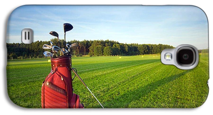 Golf Galaxy S4 Case featuring the photograph Golf Gear by Michal Bednarek