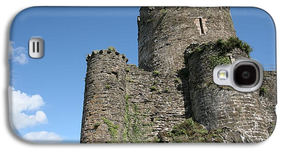Castles Galaxy S4 Case featuring the photograph Conwy Castle by Christopher Rowlands