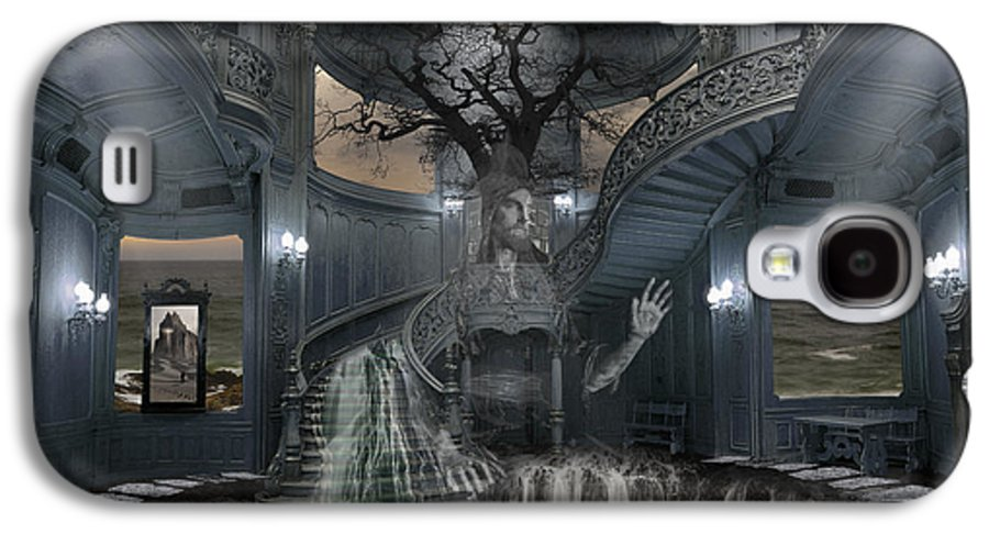 Photo Surrealism Galaxy S4 Case featuring the photograph A Room Within My Mind by Keith Kapple