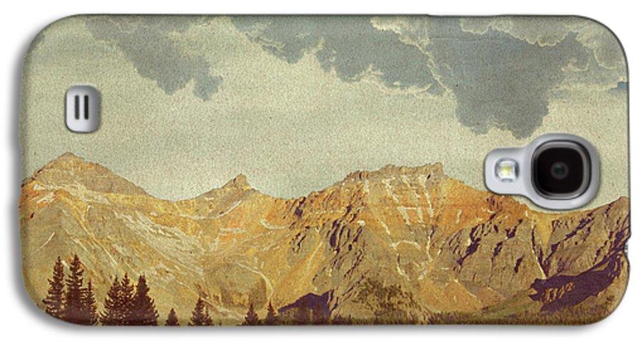 Brett Galaxy S4 Case featuring the digital art A World Of It's Own by Brett Pfister