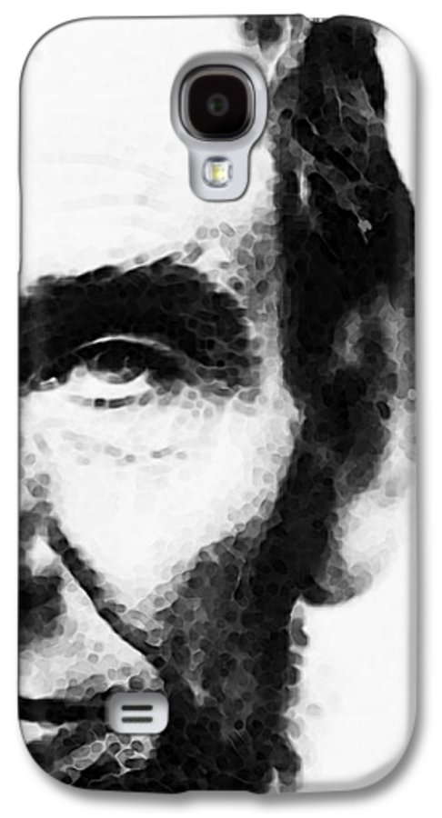 Abraham Lincoln Galaxy S4 Case featuring the painting Abraham Lincoln - An American President by Sharon Cummings