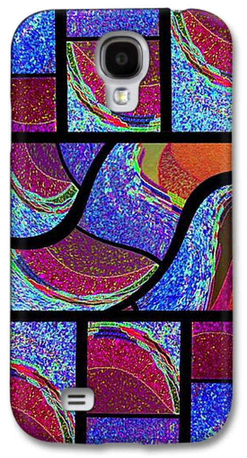 Abstract Fusion Galaxy S4 Case featuring the digital art Abstract Fusion 168 by Will Borden
