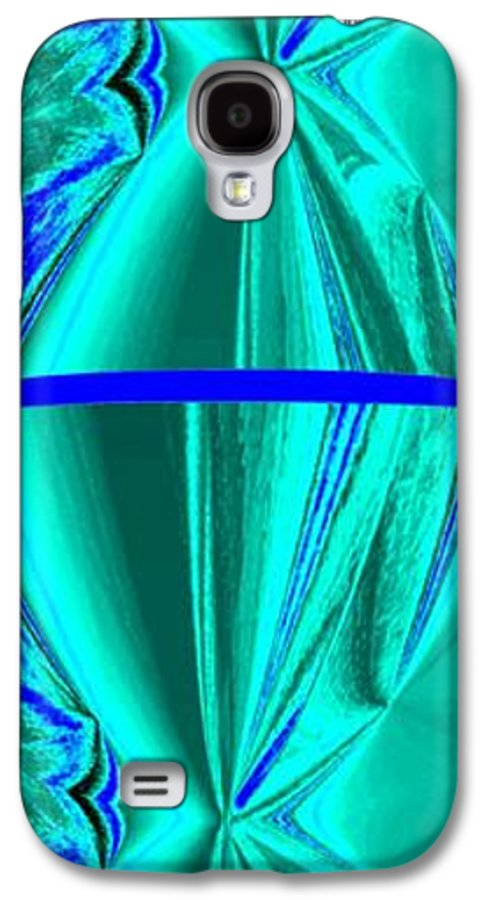 Abstract Fusion Galaxy S4 Case featuring the digital art Abstract Fusion 182 by Will Borden