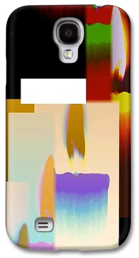 Abstract Fusion Galaxy S4 Case featuring the digital art Abstract Fusion 185 by Will Borden