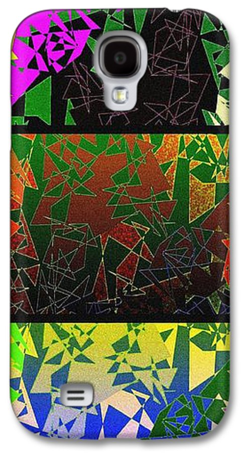 Abstract Fusion Galaxy S4 Case featuring the digital art Abstract Fusion 193 by Will Borden