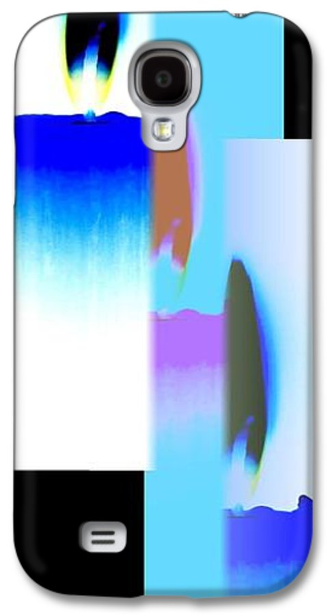 Abstract Fusion 220 Galaxy S4 Case featuring the digital art Abstract Fusion 220 by Will Borden