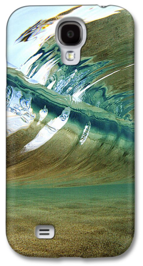 Abstract Galaxy S4 Case featuring the photograph Abstract Underwater 2 by Vince Cavataio - Printscapes