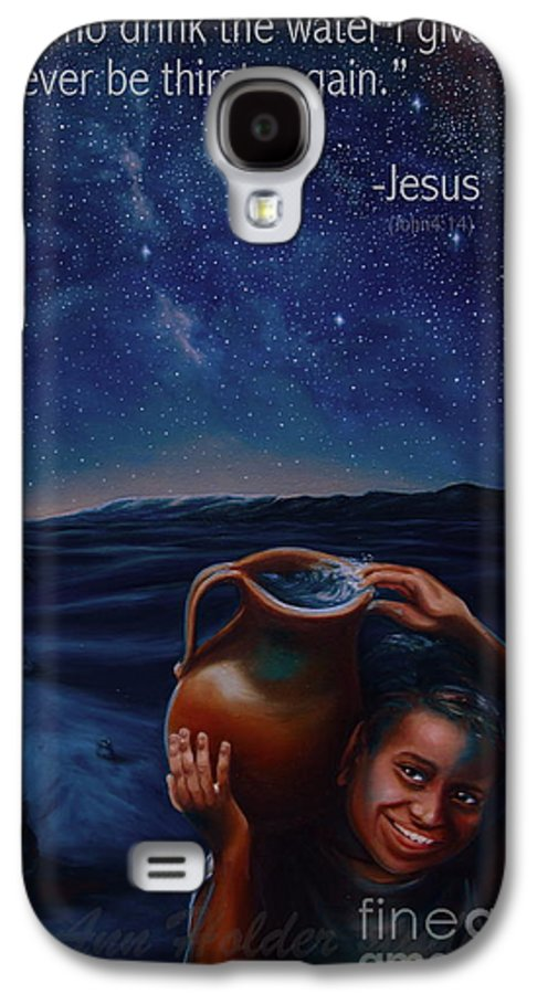 Water Galaxy S4 Case featuring the painting Abundance by Ann Holder
