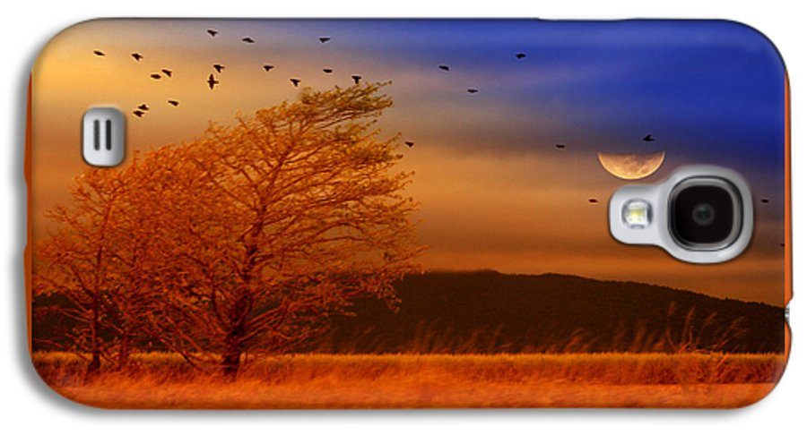 Landscape Galaxy S4 Case featuring the photograph Against The Wind by Holly Kempe