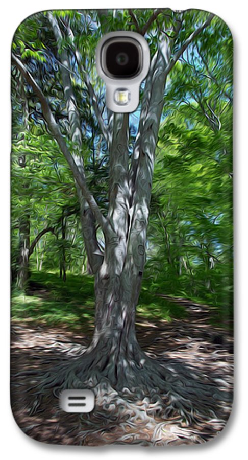 Tree Galaxy S4 Case featuring the digital art Aging Gracefully by Kelvin Booker