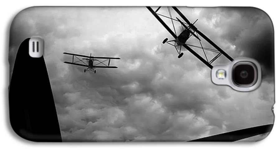 Airplane Galaxy S4 Case featuring the photograph Air Pursuit by Bob Orsillo