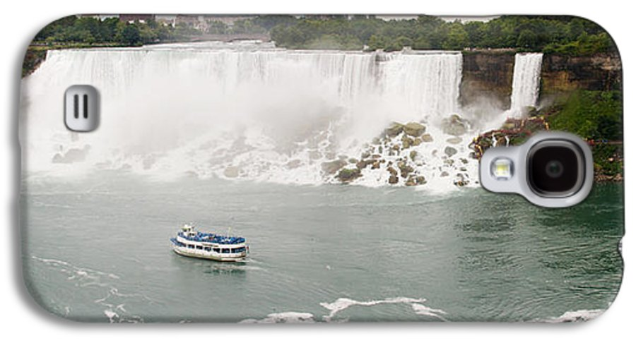 3scape Galaxy S4 Case featuring the photograph American Falls by Adam Romanowicz