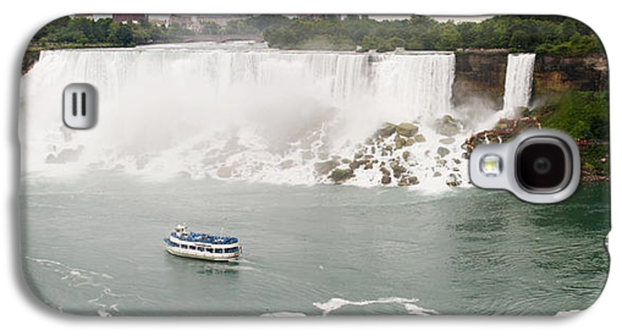 3scape Photos Galaxy S4 Case featuring the photograph American Falls by Adam Romanowicz