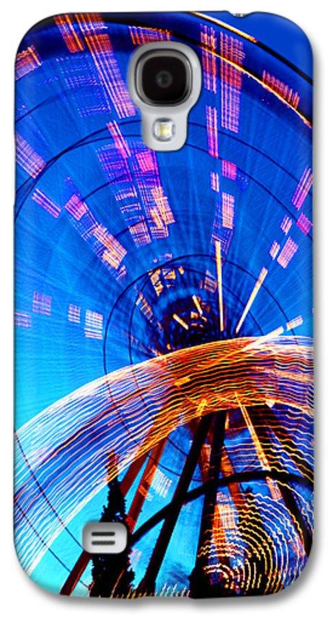 Amusement Park Galaxy S4 Case featuring the photograph Amusement Park Rides 1 by Steve Ohlsen