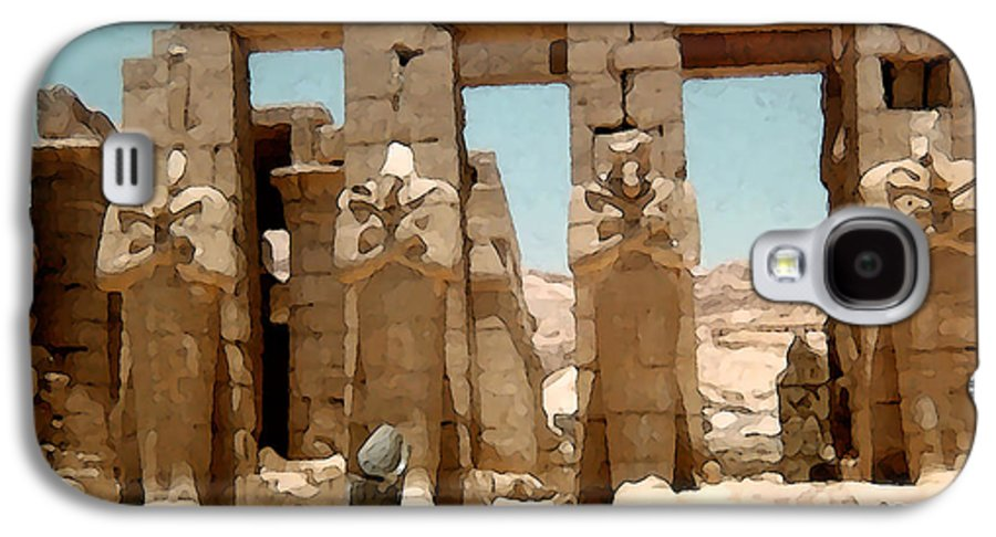 Art Galaxy S4 Case featuring the photograph Ancient Egypt by Piero Lucia