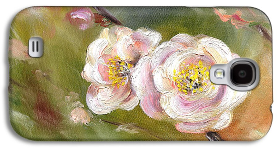Flower Galaxy S4 Case featuring the painting Anniversary by Hiroko Sakai