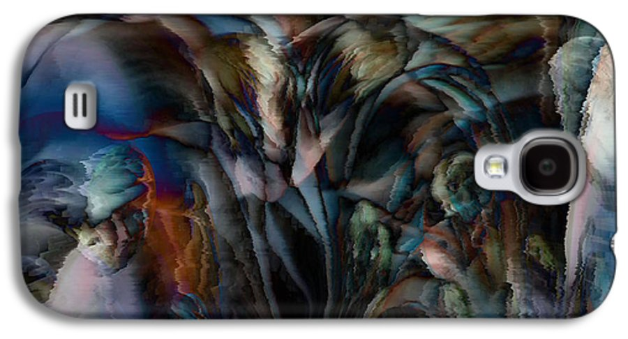 Another World Art Galaxy S4 Case featuring the digital art Another World by Linda Sannuti