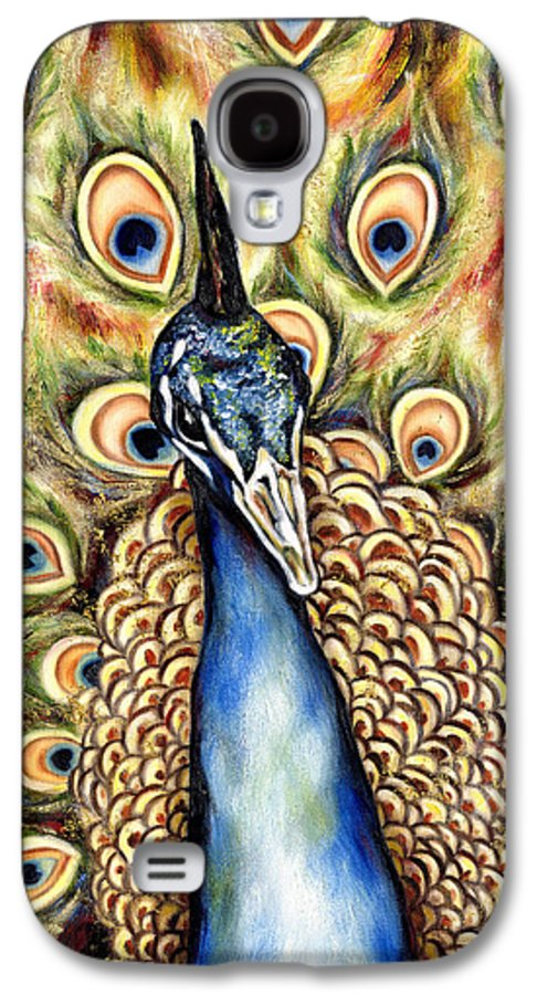 Bird Galaxy S4 Case featuring the painting Applause by Hiroko Sakai