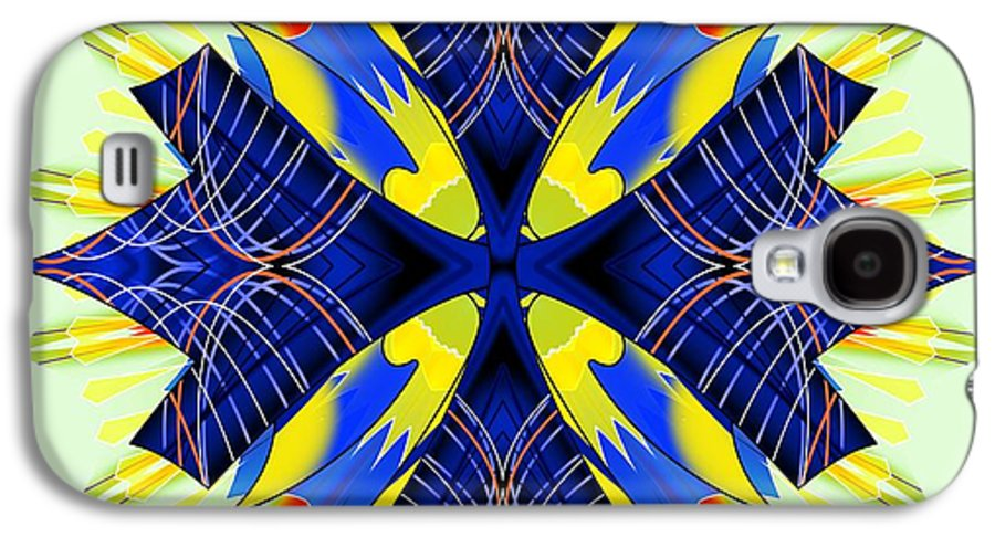 Abstract Galaxy S4 Case featuring the digital art Arise 8 by Brian Johnson