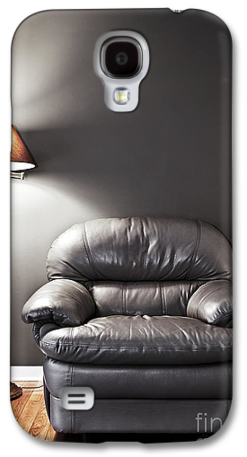 Chair Galaxy S4 Case featuring the photograph Armchair And Floor Lamp by Elena Elisseeva