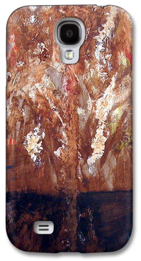 Autumn Galaxy S4 Case featuring the painting Autumn by Holly Picano