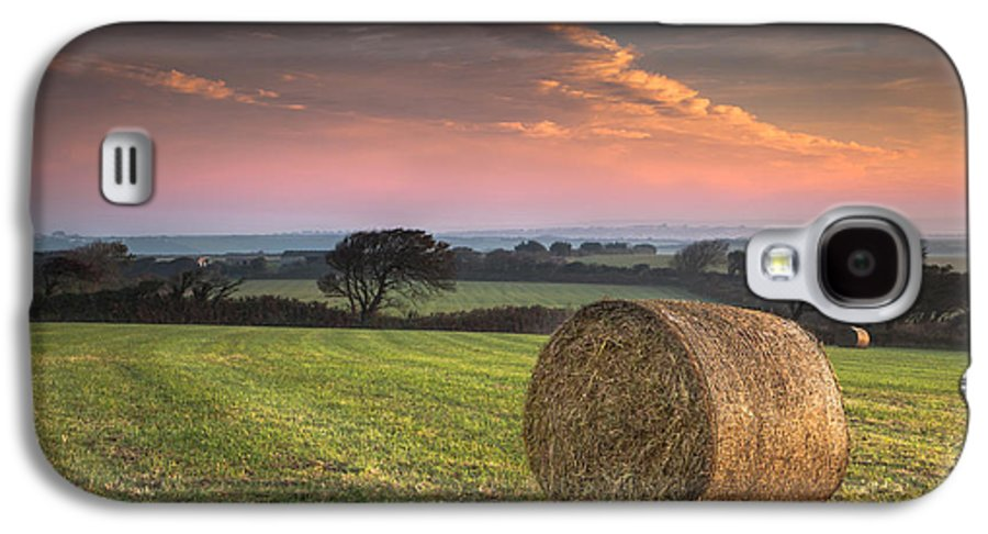 Landscape Galaxy S4 Case featuring the photograph Autumn In Cornwall by Christine Smart