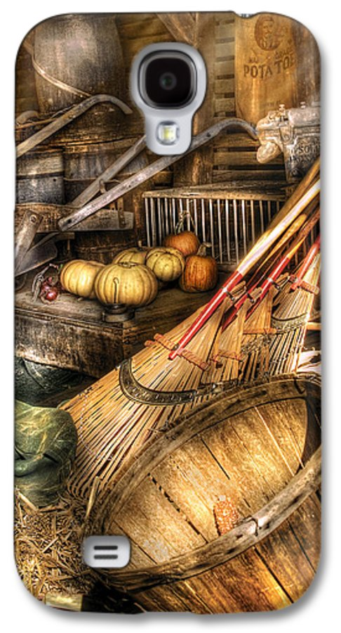 Savad Galaxy S4 Case featuring the photograph Autumn - This Years Harvest by Mike Savad