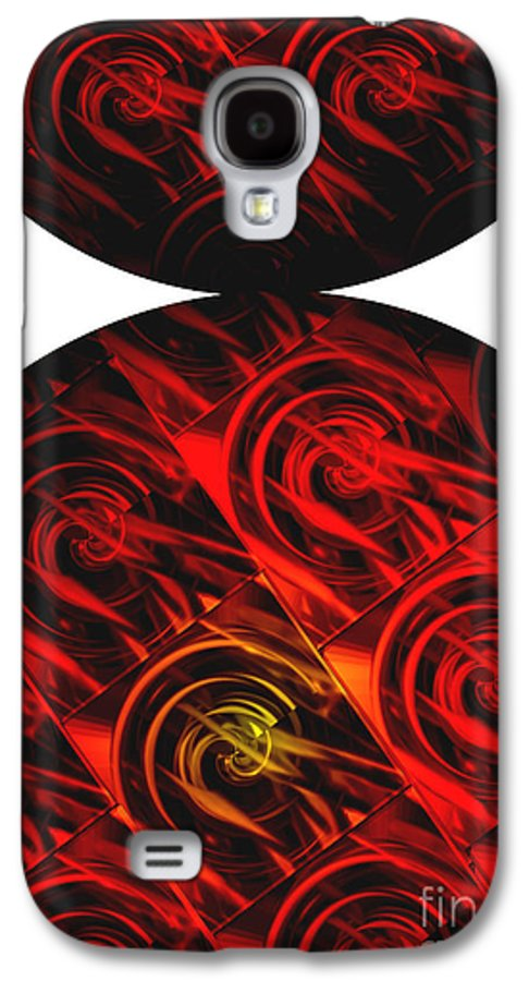 Abstract Galaxy S4 Case featuring the digital art Balance by Ann Powell
