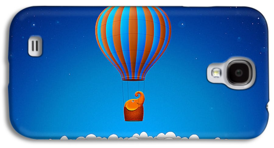 Happy Galaxy S4 Case featuring the photograph Balloon Elephant by Gianfranco Weiss