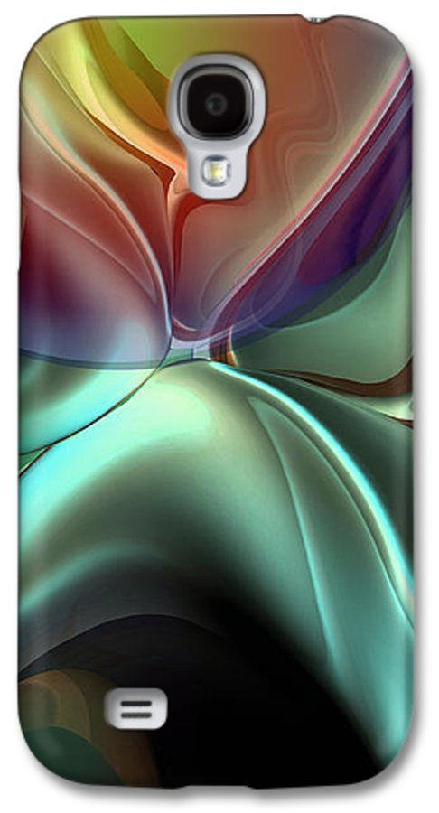 Reminiscence Galaxy S4 Case featuring the painting Baroque Music Reminiscence by Christian Simonian