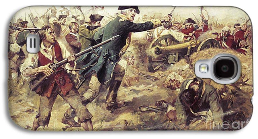 General John Stark Galaxy S4 Case featuring the painting Battle Of Bennington by Frederick Coffay Yohn