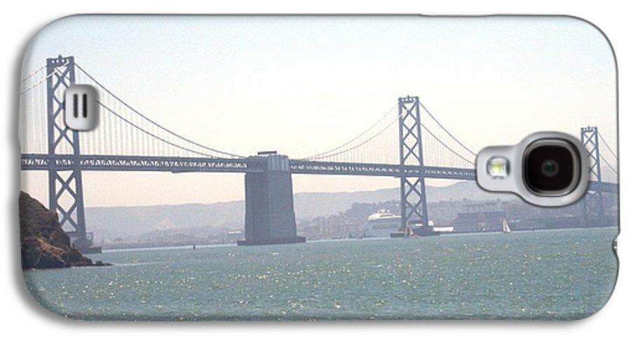 Bay Bridge Galaxy S4 Case featuring the photograph Bay Bridge by Pharris Art