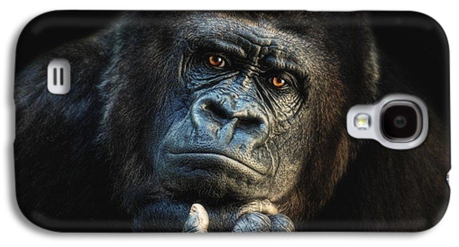 Hominidae Galaxy S4 Case featuring the photograph Big Dreamer by Joachim G Pinkawa