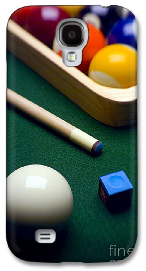 Billiard Galaxy S4 Case featuring the photograph Billiards by Tony Cordoza