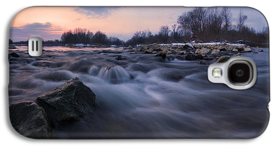 Landscapes Galaxy S4 Case featuring the photograph Blue Dream by Davorin Mance