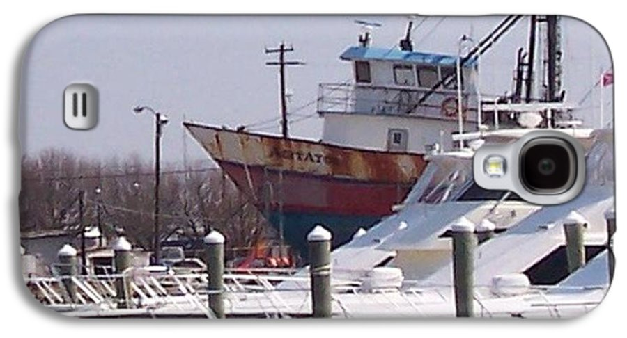 Boat Galaxy S4 Case featuring the photograph Boats Docked by Pharris Art