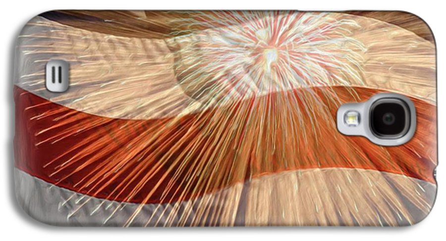 4th Galaxy S4 Case featuring the photograph Bombs Bursting In Air by Heidi Smith