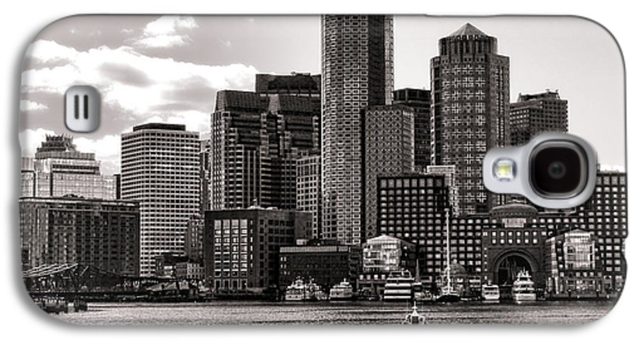 Boston Galaxy S4 Case featuring the photograph Boston by Olivier Le Queinec