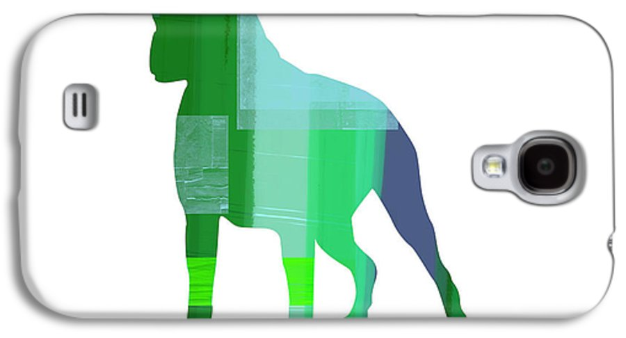 Boxer Galaxy S4 Case featuring the painting Boxer 1 by Naxart Studio