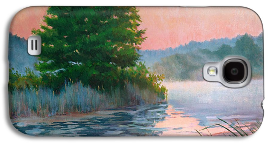 Impressionism Galaxy S4 Case featuring the painting Break Of Day by Keith Burgess